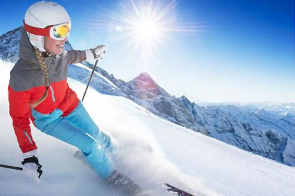 Protecting the skin during ski holidays
